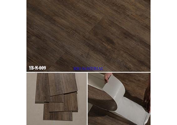 Mẫu sàn nhựa bóc dán vân gỗ 09