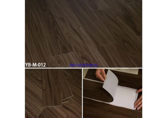 Mẫu sàn nhựa bóc dán vân gỗ 12