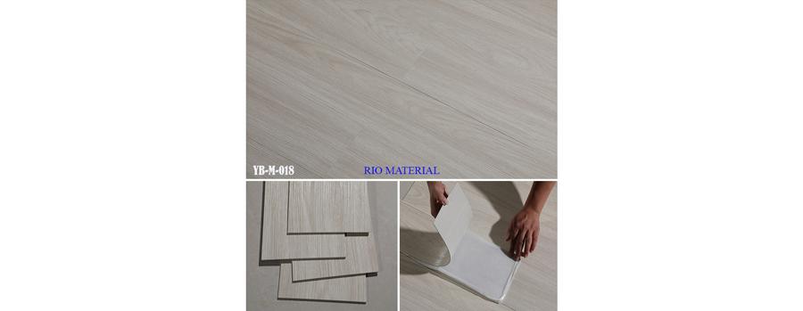 Mẫu sàn nhựa bóc dán vân gỗ 18
