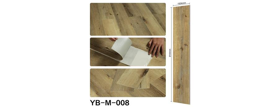 Mẫu sàn nhựa bóc dán vân gỗ 08