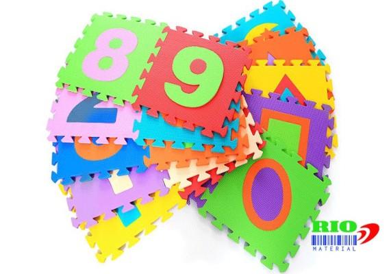 Thảm xốp ghép chữ số