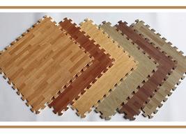 Thảm xốp vân gỗ