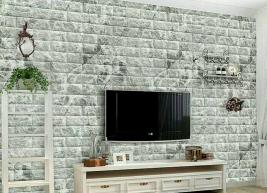 Xốp dán tường 3d vân đá